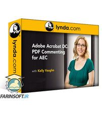 دانلود Lynda Adobe Acrobat DC: PDF Commenting for AEC