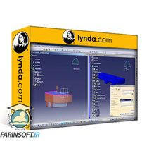دانلود Lynda Learning CATIA v5