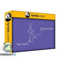 دانلود Lynda Enterprise Agile: Growing Scrum