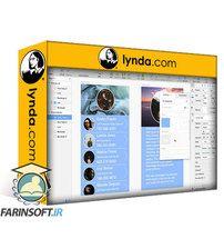 دانلود Lynda InVision Craft for UX Design