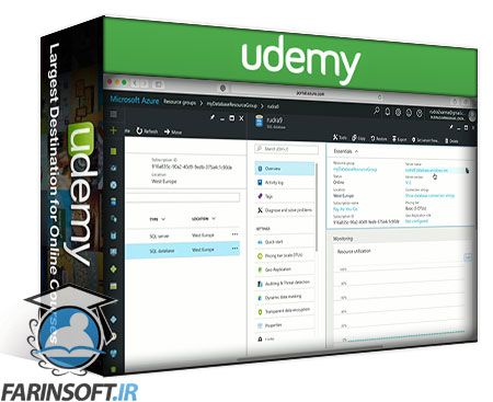 دانلود Udemy The complete walkthrough of Microsoft Azure