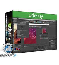 دانلود Udemy Learn Cinema 4D: Create an Abstract Background