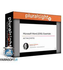 دانلود PluralSight Microsoft Word (2016): Essentials