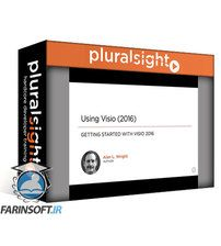 دانلود PluralSight Using Visio (2016)