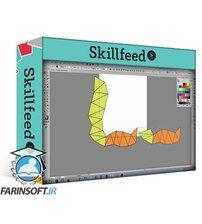 دانلود Skillshare Illustrator for Lunch – Create a Range of Triangle Patterns