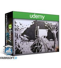 دانلود Udemy Create a Sci-Fi landscape illustration using pen and INK