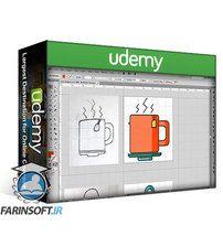 دانلود Udemy The Art of Icon Design: Create Custom Flat Icon Designs
