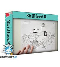 دانلود Skillshare Sketch Like an Architect: Step-by-Step from Lines to Perspective