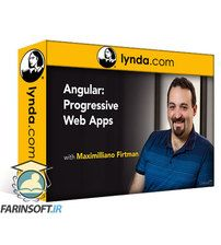 دانلود Lynda Angular: Progressive Web Apps