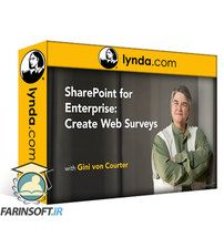 دانلود Lynda SharePoint for Enterprise: Create Web Surveys