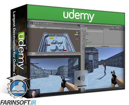 دانلود Udemy Create Your First RPG And FPS Multiplayer Game