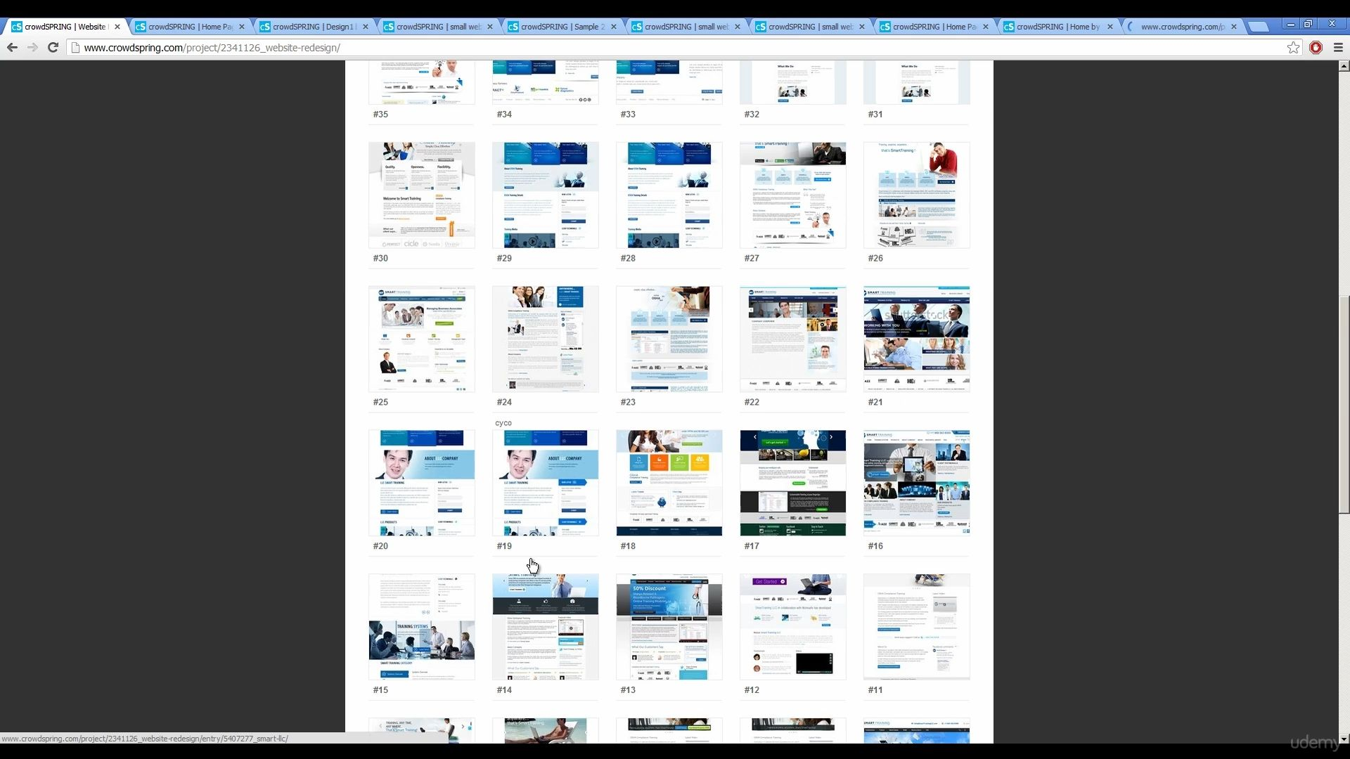 دانلود Udemy Learn Photoshop Web Design Profitable Freelancing 2017