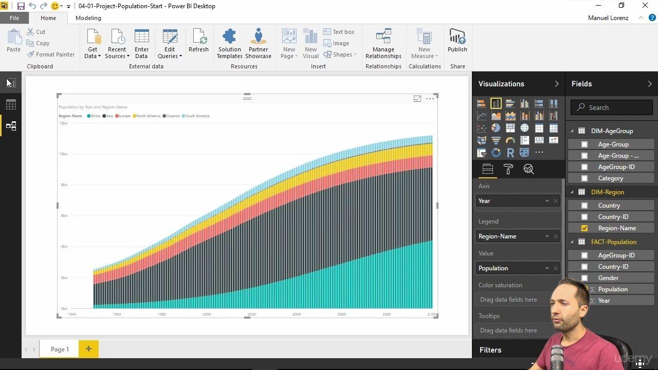 دانلود Udemy Microsoft Power BI - A Complete Introduction