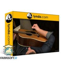 دانلود Lynda Acoustic Guitar Lessons: 1 Picking, Fretting, & Chords