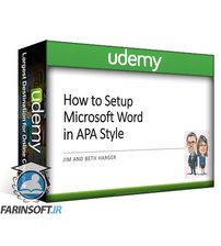 Udemy How to setup a Microsoft Document in APA Style