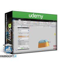 دانلود Udemy Siemens NX Unigraphics (UG) Basic to Advance 3D Modelling