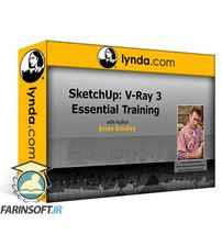 دانلود Lynda SketchUp: Rendering with V-Ray 3