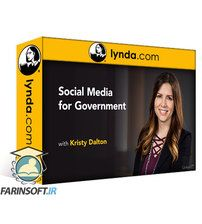 دانلود Lynda Social Media for Government