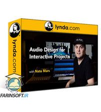 دانلود Lynda Audio Design for Interactive Projects