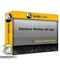 دانلود Lynda Salesforce: Working with Apps