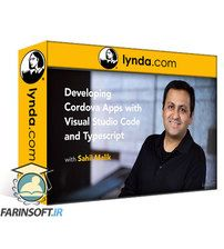 دانلود Lynda Developing Cordova Apps with Visual Studio Code and Typescript