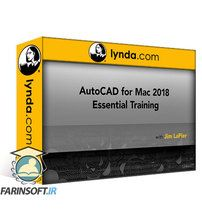 دانلود Lynda AutoCAD for Mac 2018 Essential Training