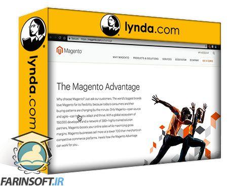 دانلود Lynda Magento Community Edition 2 Essential Training
