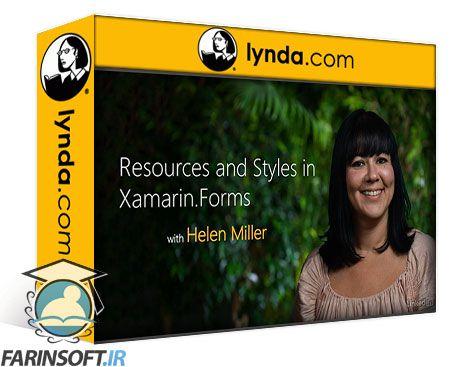 دانلود Lynda Resources and Styles in Xamarin.Forms