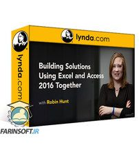 دانلود Lynda Building Solutions Using Excel and Access 2016 Together
