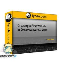 دانلود Lynda Creating a First Website in Dreamweaver CC 2017