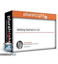 دانلود PluralSight Getting Started in UX Design