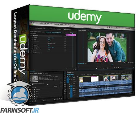 دانلود Udemy Premiere Pro CC for Beginners: Updated for 2018!