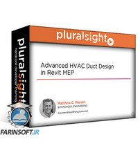 دانلود PluralSight Advanced HVAC Duct Design in Revit MEP