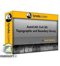 دانلود Lynda AutoCAD Civil 3D: Topographic and Boundary Survey