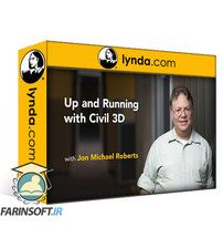 دانلود Lynda Learning Civil 3D