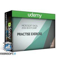 دانلود Udemy Microsoft Excel 2016 Bootcamp – Zero to Hero Training