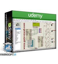 Udemy Password based Wireless Home Automation with PIC16F877A