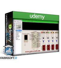 دانلود Udemy Traffic light with GSM Density checker using PIC16F877A