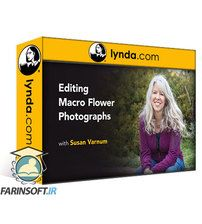 دانلود Lynda Editing Macro Flower Photographs