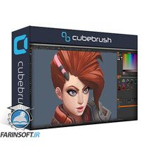 دانلود Cubebrush 3D Hand-painted Character For Games