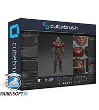 دانلود Cubebrush PBR Character For Games