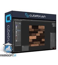دانلود Cubebrush Stylized Wooden Planks – Tileable Texture Tutorial