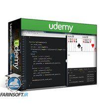 دانلود Udemy JavaScript War card game project from Scratch