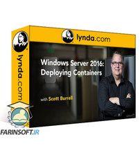 دانلود Lynda Windows Server 2016: Deploying Containers