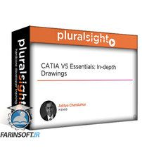 دانلود PluralSight CATIA V5 Essentials: In-depth Drawings