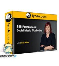 دانلود Lynda B2B Foundations: Social Media Marketing