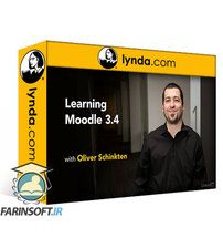 دانلود Lynda Learning Moodle 3.4