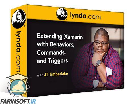دانلود Lynda Extending Xamarin with Behaviors, Commands, and Triggers