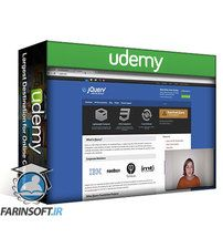 دانلود Udemy Learn How to Build a Website with jQuery