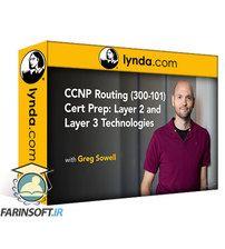 دانلود Lynda CCNP Routing (300-101) Cert Prep: Layer 2 and Layer 3 Technologies